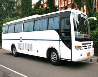 27 Seater Coach Rental in Amritsar
